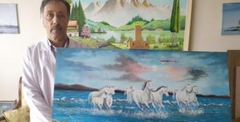 Ressam Fesih Özyurt, 11. kişisel sergisini açıyor