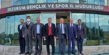 Tekerlekli Kızak Türkiye Şampiyonası Erzurum'da