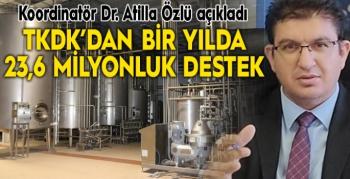 TKDK'dan 2020'de Erzurum'a 23,6 milyon TL hibe desteği