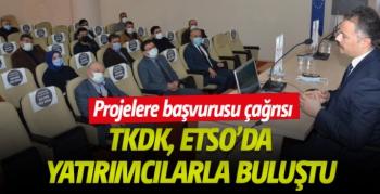 TKDK, ETSO'da yatırımcılarla buluştu