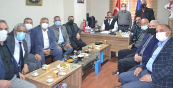 Türk İş'ten sağlık işçileri sendikasına hayırlı olsun ziyareti