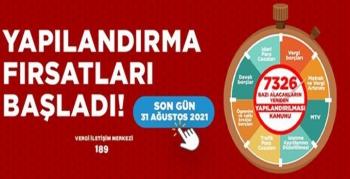 Vergi Dairesi Başkanı Atabek'ten, yapılandırma çağrısı