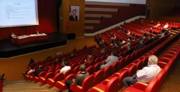 Yeni akademik yılın ilk senato toplantısı yüz yüze gerçekleştirildi