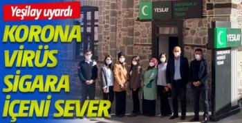 Yeşilay'dan, Sigarayı Bırakma Günü'nde 'korona virüs sigara içeni sever' uyarısı