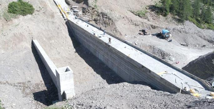 Oltu Esenyamaç Göleti ile 410 dekar zirai arazi sulanacak