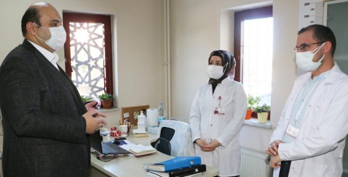 Orhan'a Covid-19 aşısı