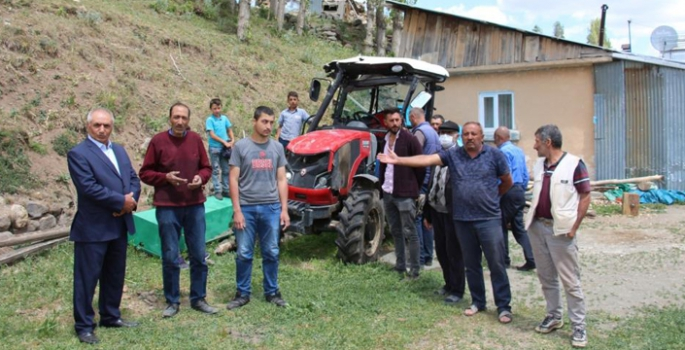 Sigorta mağduru çiftçi isyan ediyor