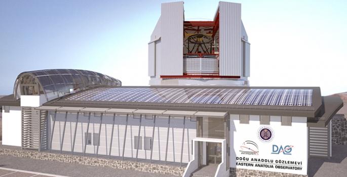 Siz Erzurum'da inşa edilen teleskopun hikaye olduğunu mu zannediyorsunuz?