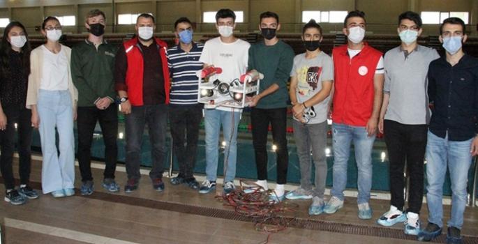 Teknofest için insansız su altı aracı tasarladılar