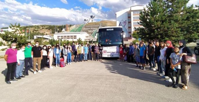 Vanlı öğrenciler Erzurum'u çok sevdi