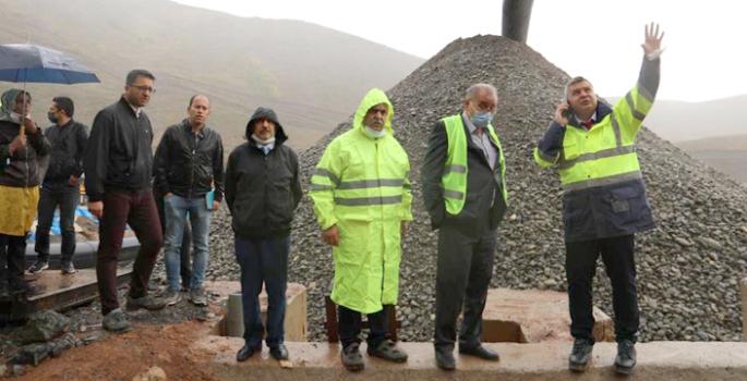 Yavuz Turnaçayırı barajında incelemede bulundu