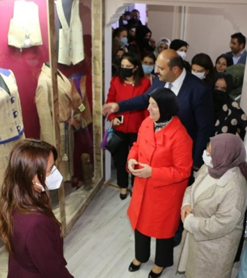 Ehram projesi, kadınların yeni iş kapısı olacak