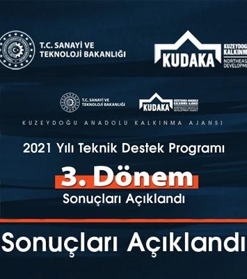 KUDAKA 2021 3. dönem sonuçları açıklandı